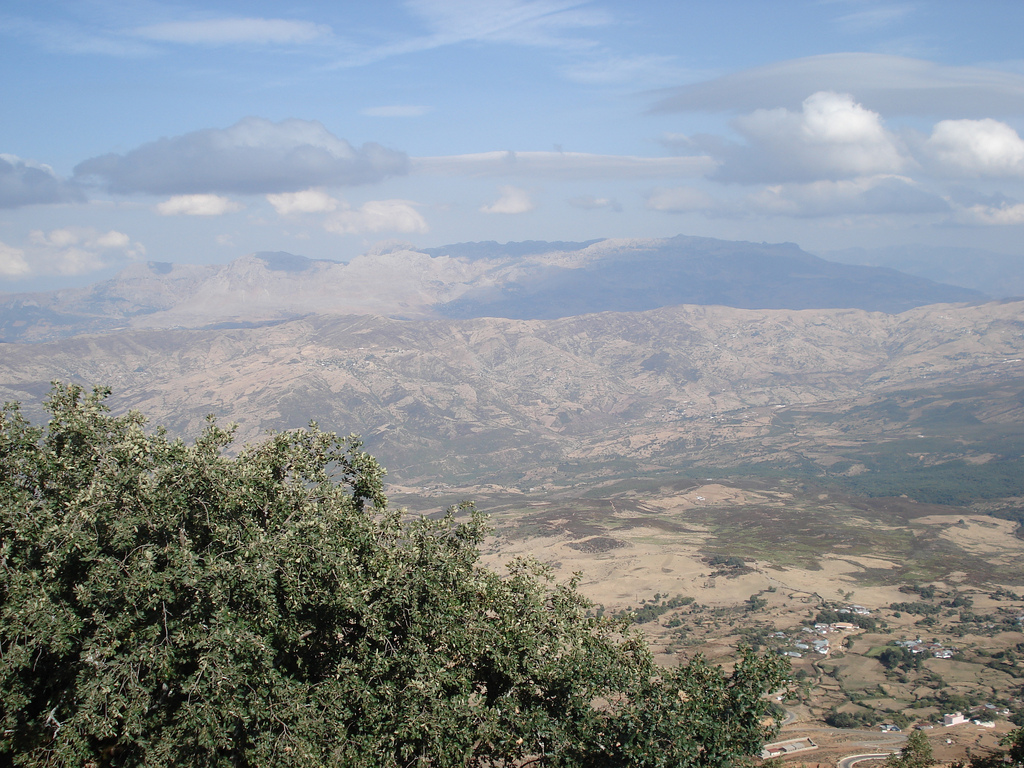 Jabal ´Alam mountain view